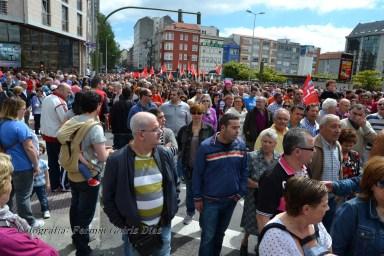 Folga Comarcal Ferrol, Huelga General Ferrol, 12 de xuño de 2013 - manifestación Ferrol, 12-06-2013 - fotografía por Fermín Goiriz Díaz(73)