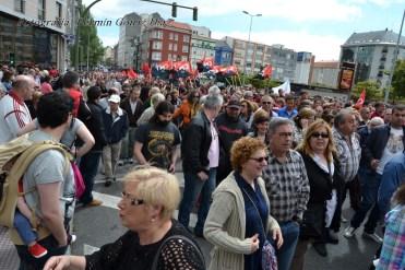 Folga Comarcal Ferrol, Huelga General Ferrol, 12 de xuño de 2013 - manifestación Ferrol, 12-06-2013 - fotografía por Fermín Goiriz Díaz(75)