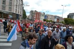 Folga Comarcal Ferrol, Huelga General Ferrol, 12 de xuño de 2013 - manifestación Ferrol, 12-06-2013 - fotografía por Fermín Goiriz Díaz(84)