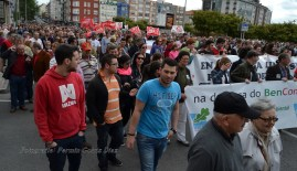 Folga Comarcal Ferrol, Huelga General Ferrol, 12 de xuño de 2013 - manifestación Ferrol, 12-06-2013 - fotografía por Fermín Goiriz Díaz(86)