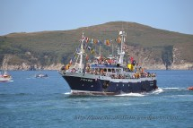 Procesión marítima en honor a la virgen del mar - Cedeira, 16-08-2013 - Fotografía por fermín Goiriz Díaz (93)