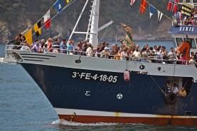 Procesión marítima en honor a la virgen del mar - Cedeira, 16-08-2013 - Fotografía por fermín Goiriz Díaz (94)