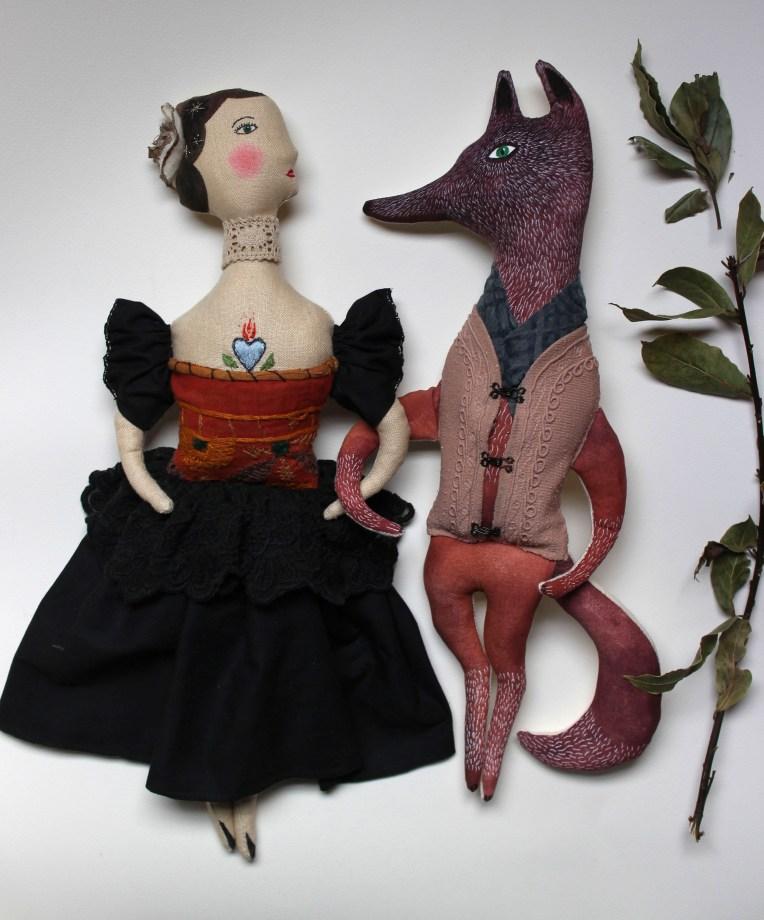 art doll wolf
