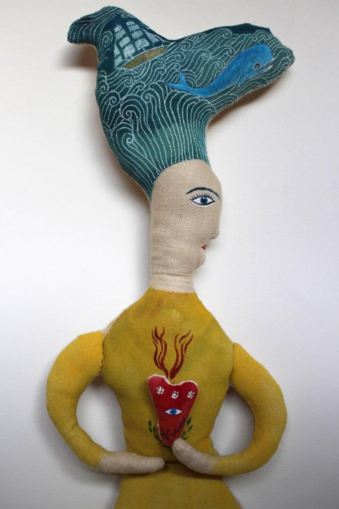 Sea Bride doll detail1