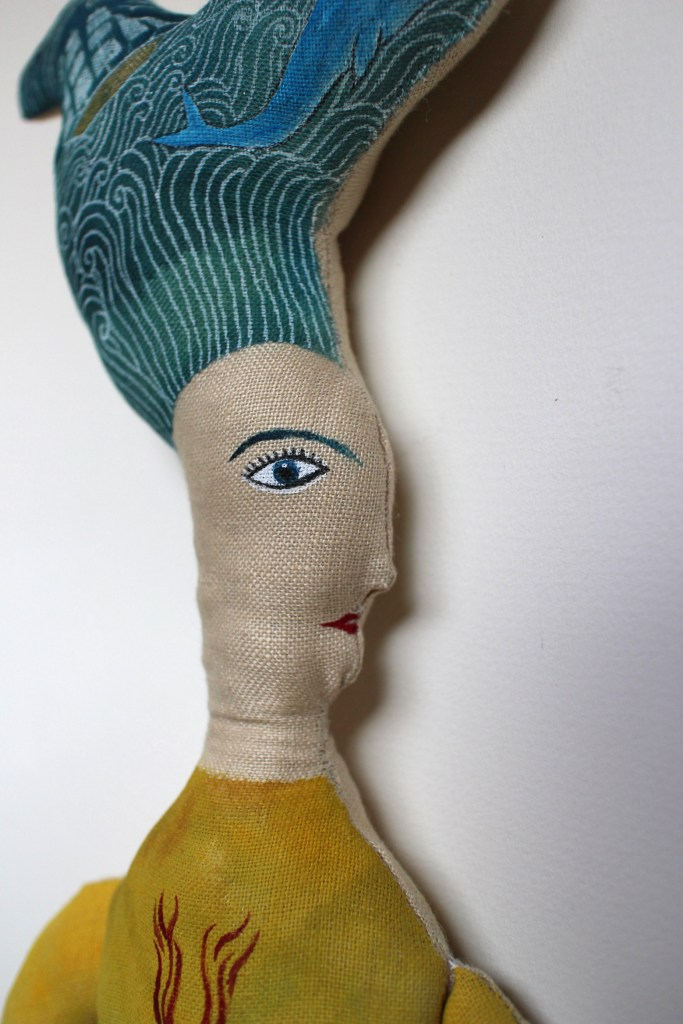 Sea Bride doll detail2