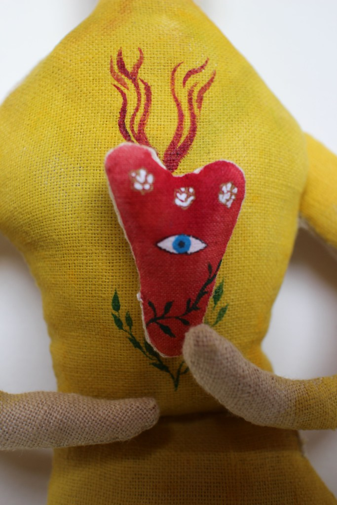 Sea Bride doll detail4