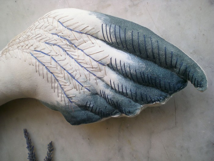 Blue owl doll 04