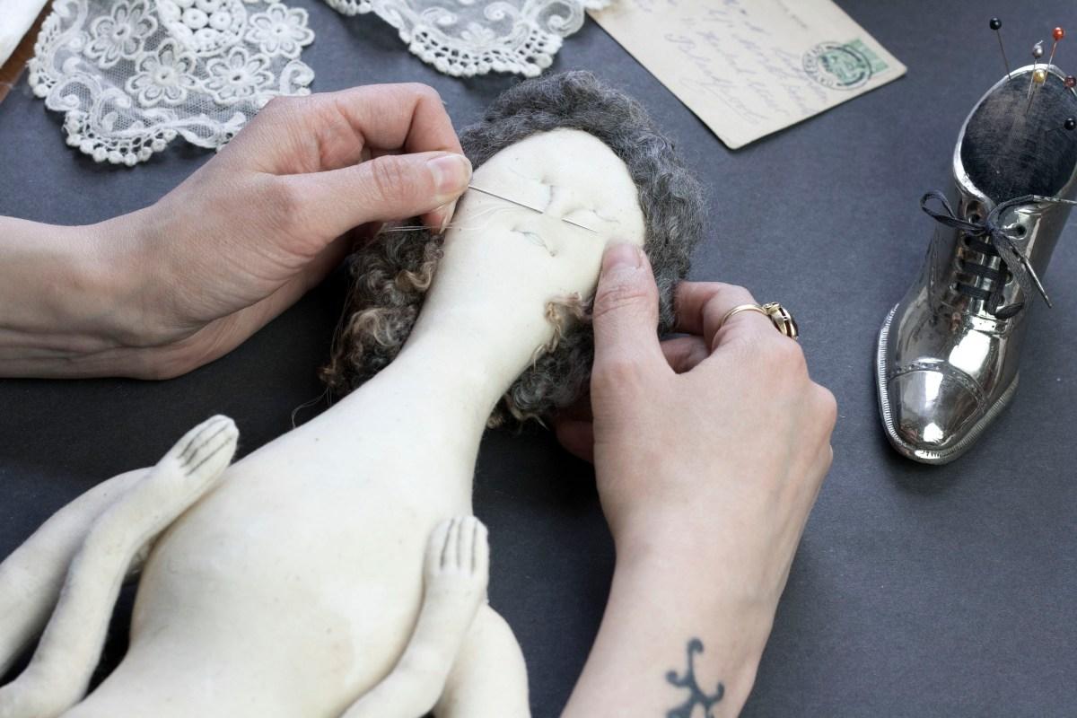 needle sculpting