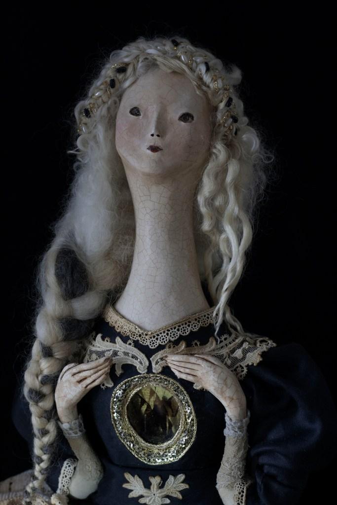 dark art doll