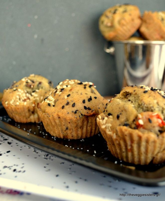 11 Moist and Delicious Muffin Recipes - Vegan Olive Muffins Recipe.