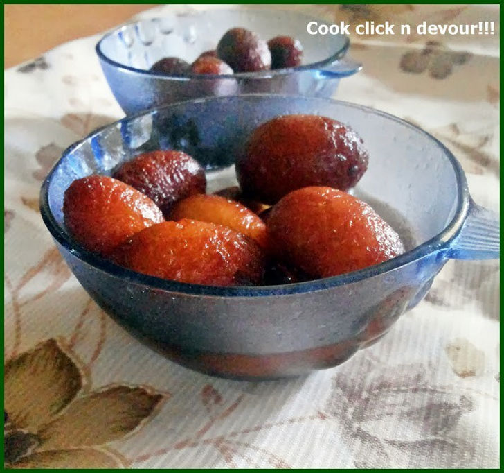 Gulab Jamun With Milk Powder Recipe.