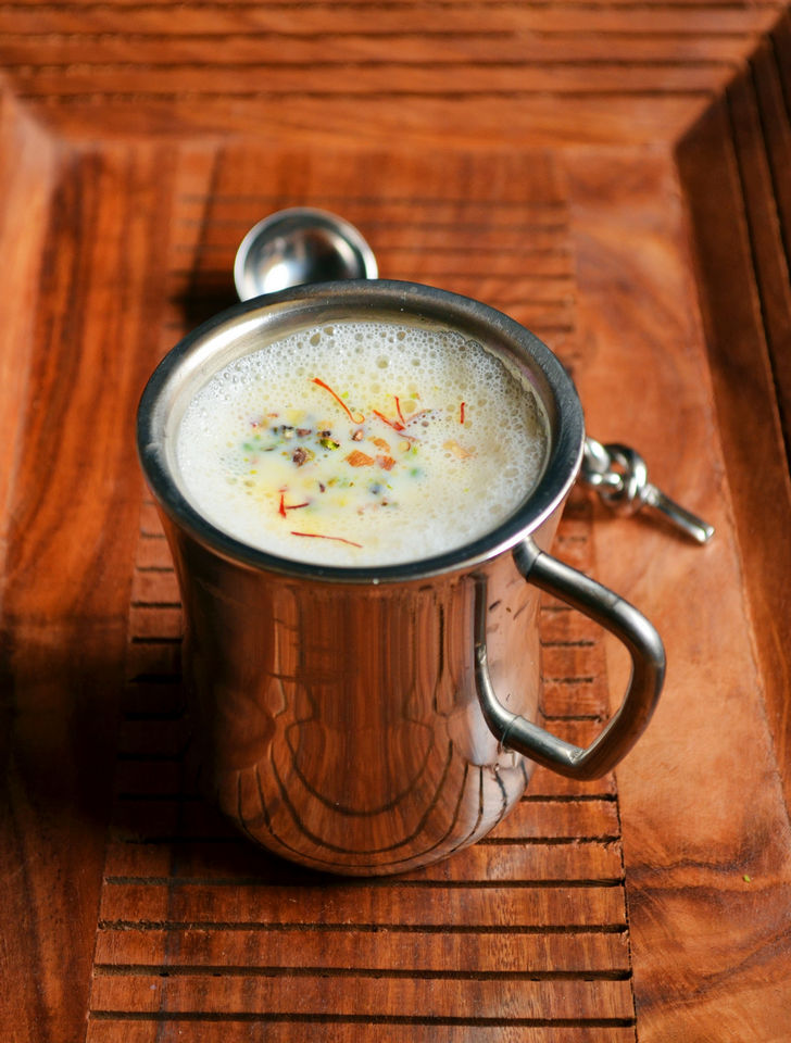 Masala Milk Recipe.