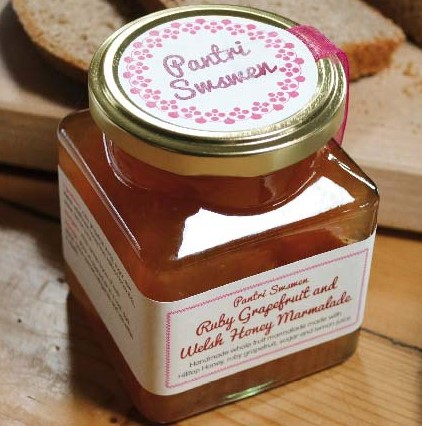 Ruby Grapefruit & Welsh Wildflower Honey Marmalade