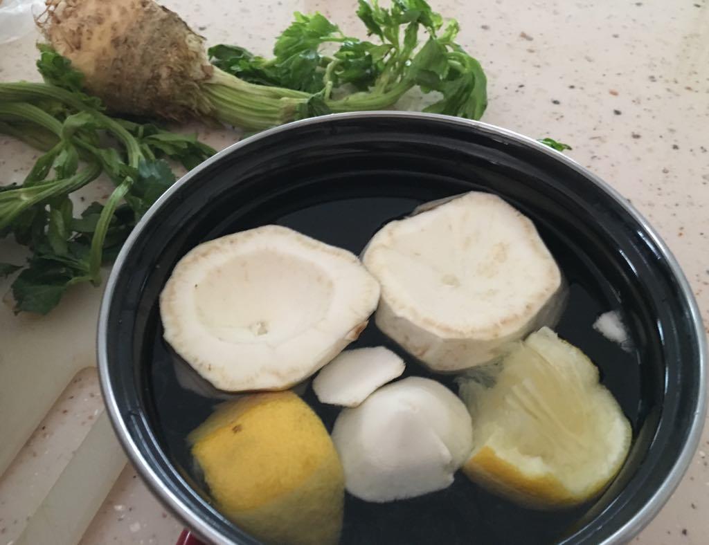 Stuffed Celeriac