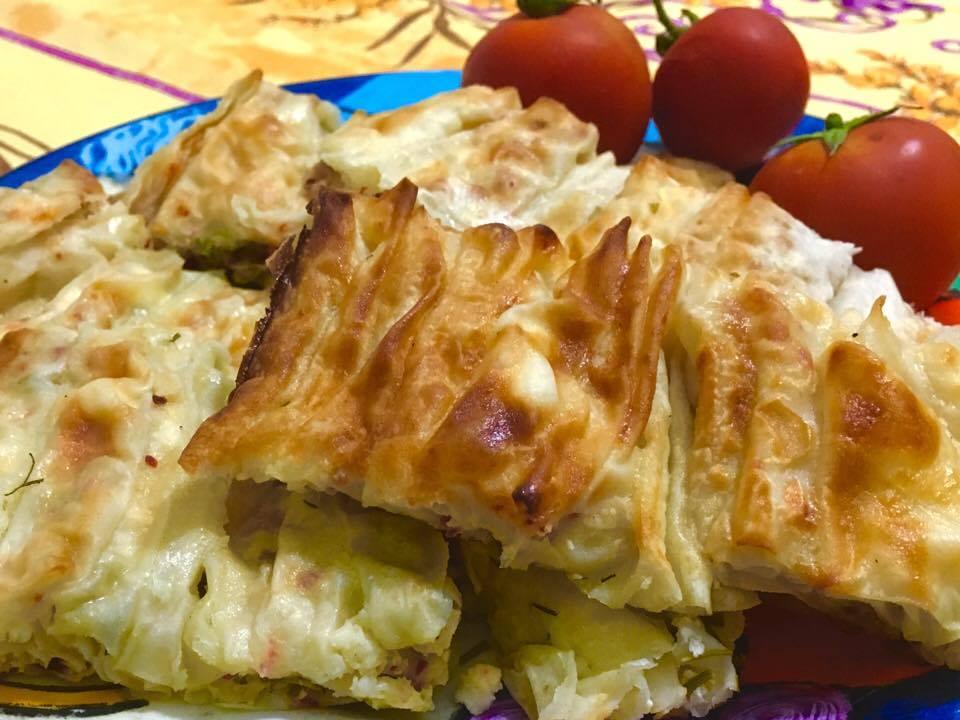 Scrunch Borek Kırma Böreğı