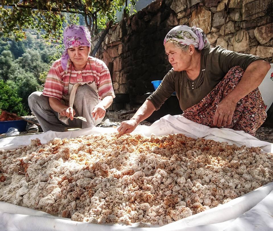 Tarhana by Kat Kamstra - Seasonal Cook in Turkey