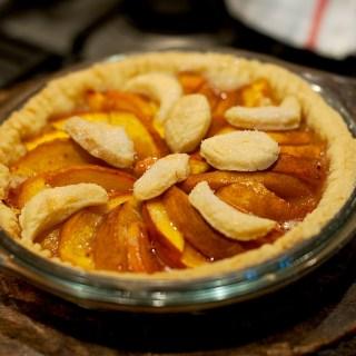 nectarin Fruit Tart