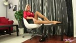 Trainer Teases Pupil With Her Pantyhose Ft