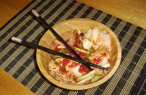 Raw Vegan Kimchi