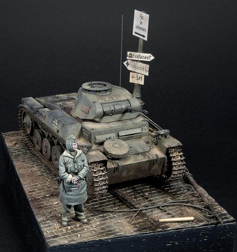 Pz.Kpfw.II Ausf.F, in Kharkov