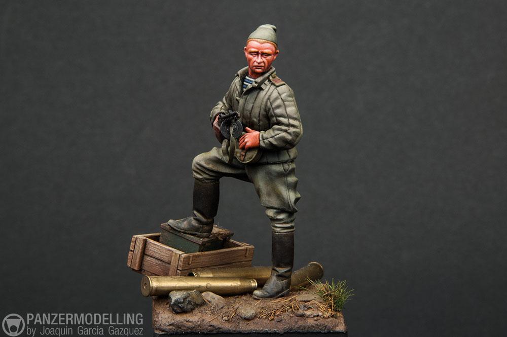 Maldshiy Serzhant, Eastern Front 1944