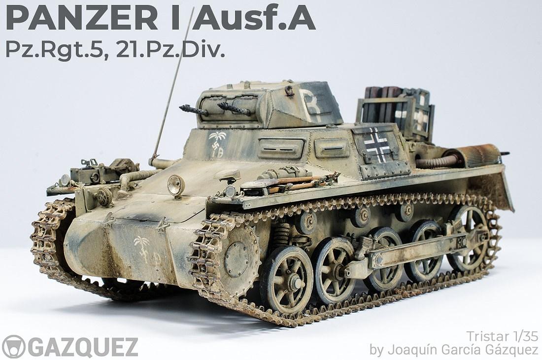 Panzer I Ausf.A, Pz.Rgt.5, 21Pz.Div.