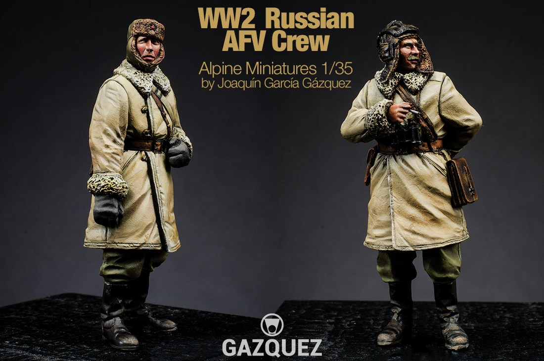 WW2 Russian AFV Crew