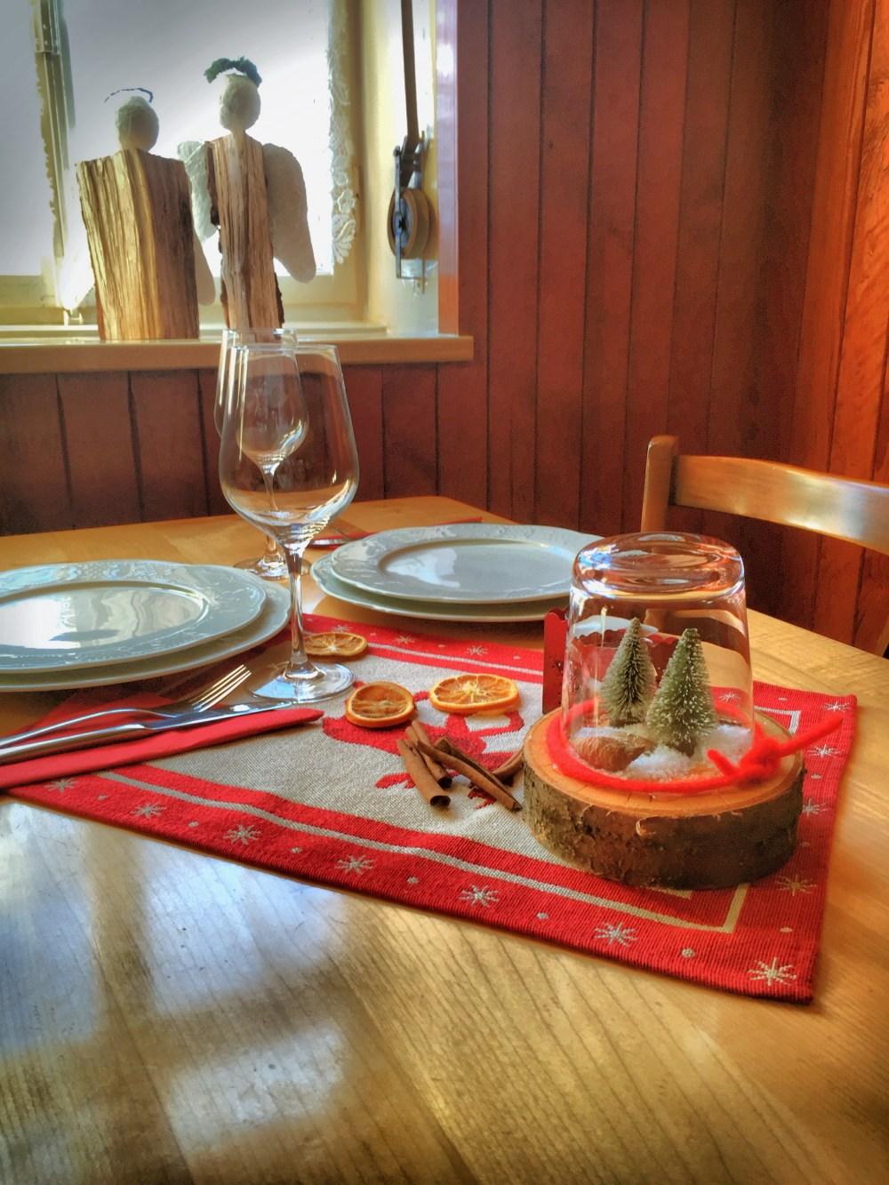 Gedeckter Tisch Adentmenü 1