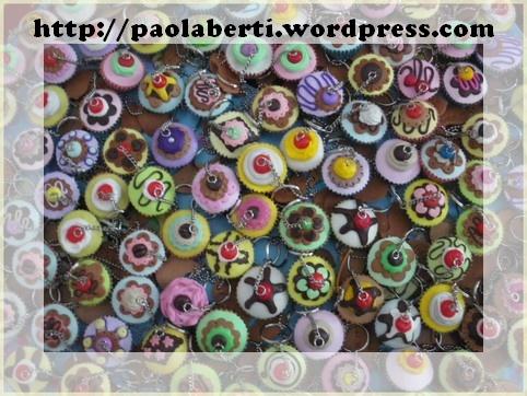 cupcakes portachiavi personalizzati