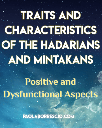 Soul groups and the origin of the soul: The Mintakans and The Hadarians