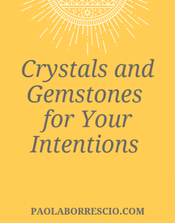 Crystals and Gemstones for your intentions