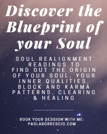 Akashic Records Readings for Soul Realignment with Paola Borrescio - Discover the Blueprint of your soul.