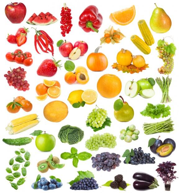 I Colori Della Frutta1 Rosso Giallo E Arancio