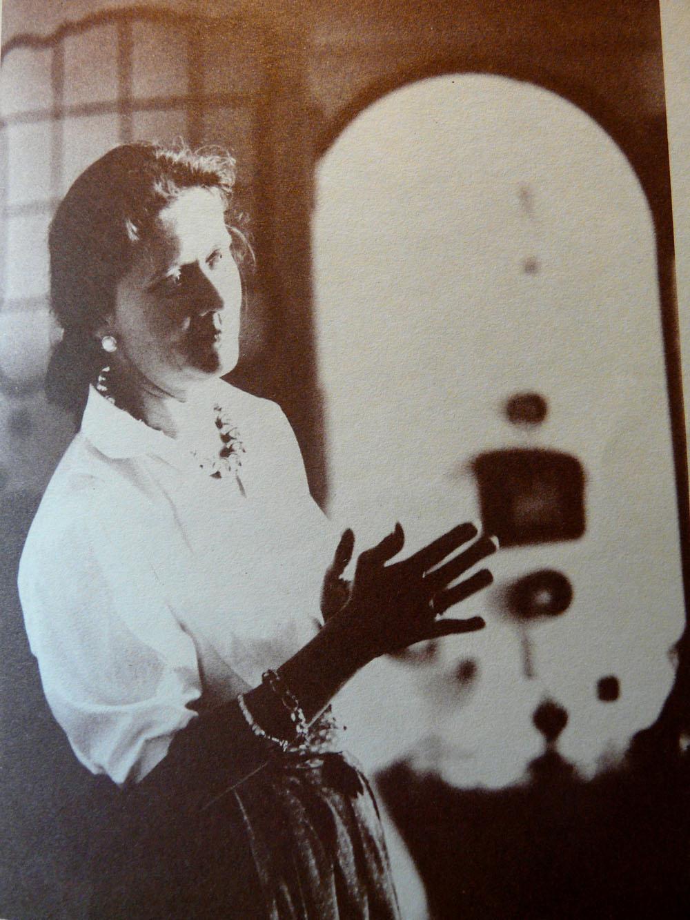 L'artista Giovanna Ceccaroni