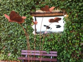 Installazione presso il Centro d'Arte nel Chianti La Loggia - Montefiridolfi
