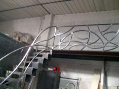 scale e ringhiere in ferro