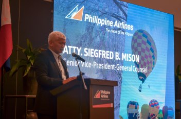 Senior Vice-President of Philippines Airlines seemed pretty serious about their plans