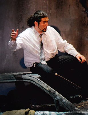 Paolo Ruggiero - Un Ballo in Maschera - Renato - Stadttheater Erfurt (Germania). Direttore Joji Hattori.