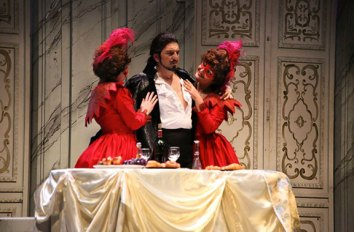 Paolo Ruggiero DON GIOVANNI -Theatre Le Beffoi, Montrouge, Paris