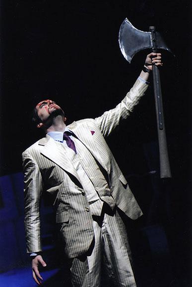 Paolo Ruggiero - FEDRA di I. Pizzetti - Teseo - Stadttheater Erfurt (Germania). Direttore Walter E. Gugerbauer.