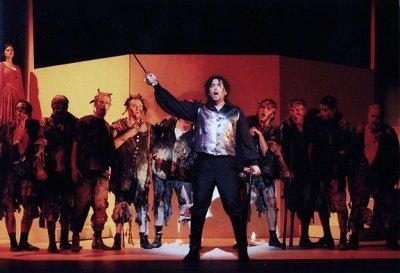 Paolo Ruggiero - IL GIURAMENTO di S. Mercadante - Manfredo - Stadttheater Giessen (Germania). Direttore Carlos Spierer.