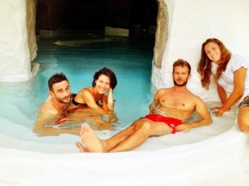 Giulia, Giuseppe, io e Federica