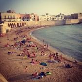 Gallipoli's beach