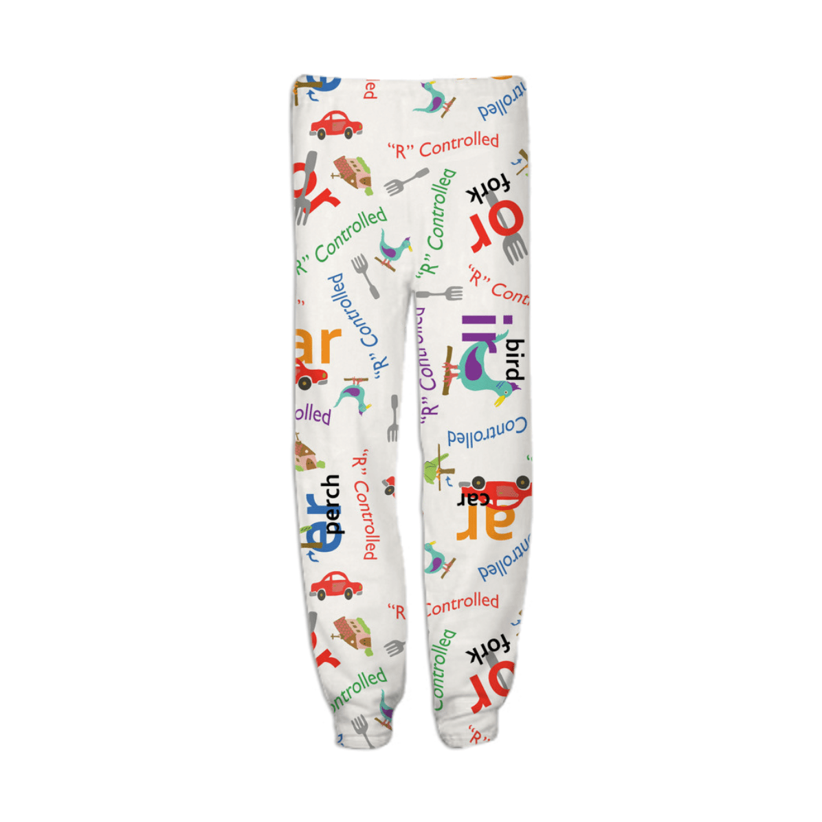 Shop Alphabet R Controlled Vowel Inspired Sweatpants