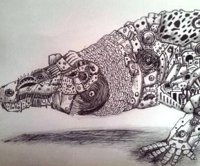 Cocodrilo Mecánico. 2016