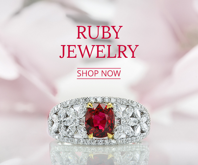 Ruby Jewelry from Leibish
