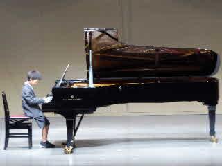 ピアノの発表会20174番目の子