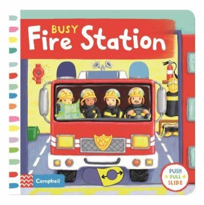 Busy Fire Station Sampul Buku
