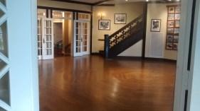 The Rockefeller living room