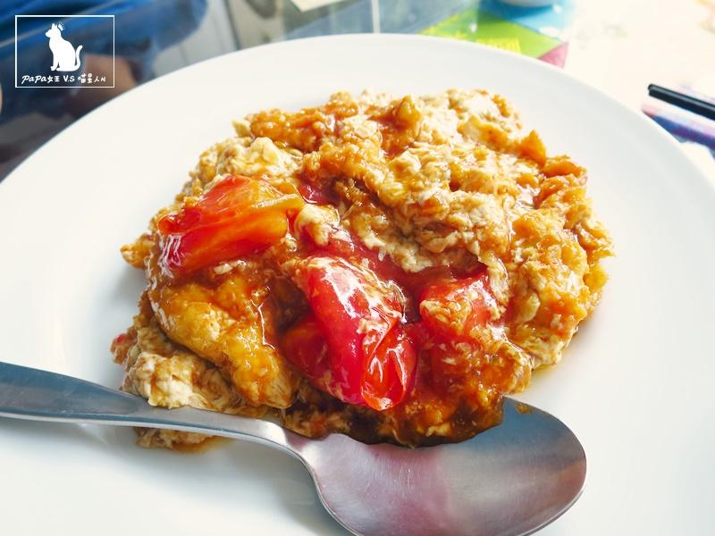 台中 素食 起若雅蔬食餐廳 住宅區內的庭園小館! 蕃茄炒蛋不是蛋?